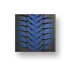 Goodyear Ultra Grip 8 3D BIS Technology