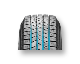 Pirelli Scorpion Ice Snow 4 longitudinal grooves